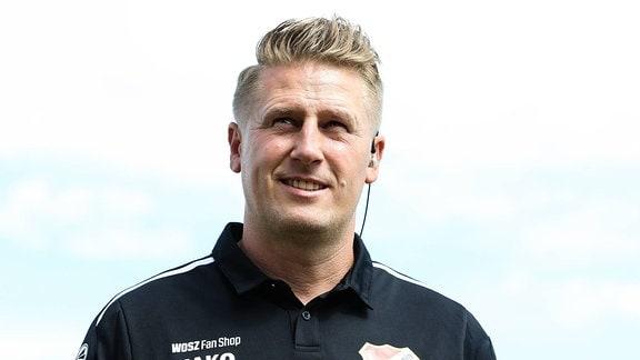 Trainer Sven Körner (Germania Halberstadt)