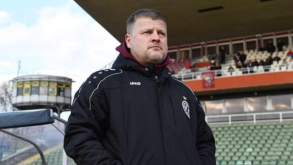 Trainer Matthias Maucksch (BFC Dynamo),