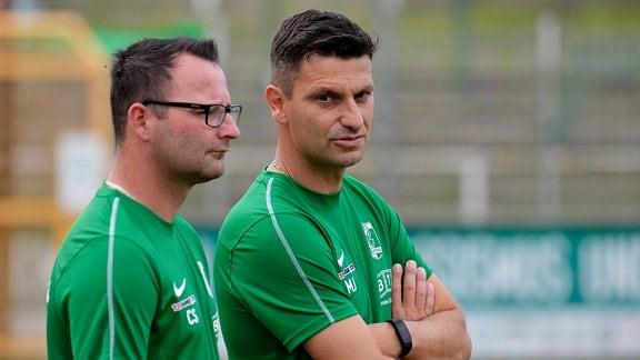 Miroslav Jagatic Chemie Leipzig Trainer