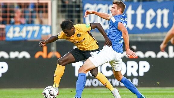 Moussa Kone und Maxim Leitsch