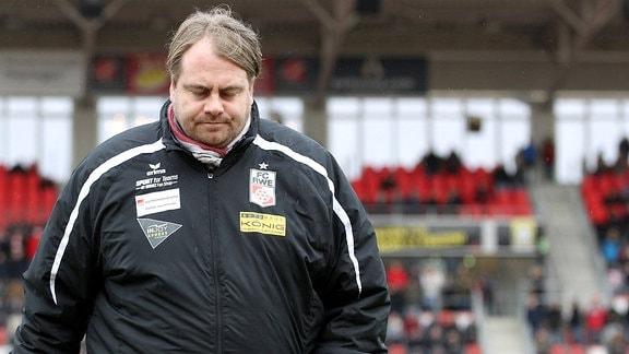 Sportdirektor Oliver Bornemann, FC Rot Weiss Erfurt