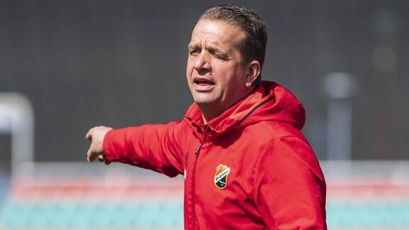 Trainer Andreas Petersen (VfB Germania Halberstadt)