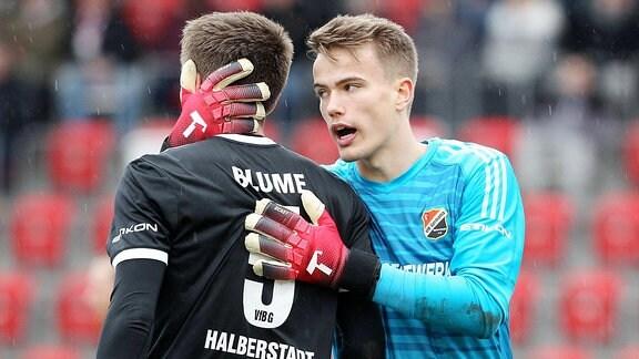 Philipp Blume und Fabian Guderitz.