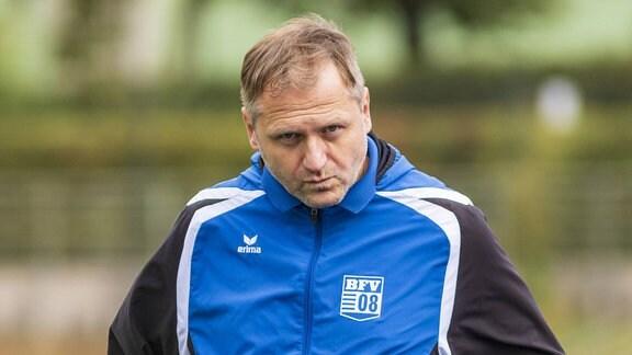Bischofswerdaer FV 08 im Stadion Lichterfelde / Trainer Erik Schmidt