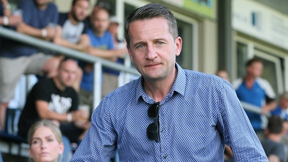 Sportdirektor Thomas Sobotzik ( Chemnitzer FC)