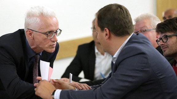 Rechtsanwalt Dr.Steffen Böhm und Roman Kerber