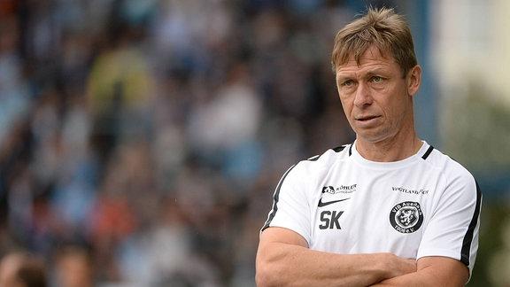Trainer Sven Köhler (VfB Auerbach)