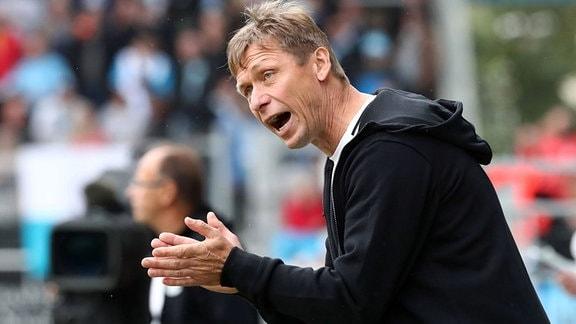 Trainer Sven Köhler (VfB Auerbach), 2018
