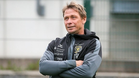 Sven Köhler (Trainer VfB Auerbach)