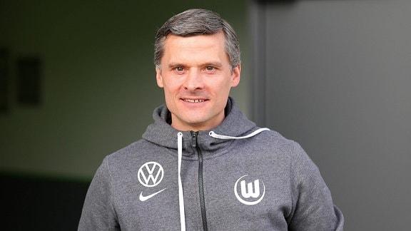 Cheftrainer Rüdiger Ziehl (VfL Wolfsburg II)