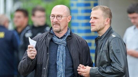 Wolfgang Wolf und Nicky Adler