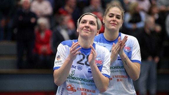 Lydia Jakubisova (vorn, Thüringer HC)