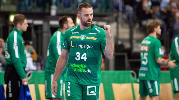 Alen Milosevic (Spieler SC DHfK Leipzig)