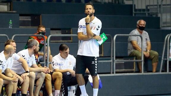 Bennet Wiegert, Trainer SCM