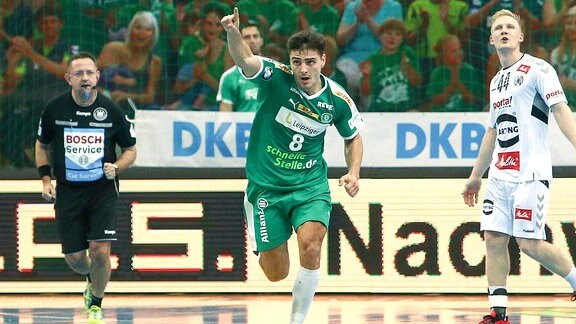 Lukas Krzikalla (8, Leipzig) jubelt