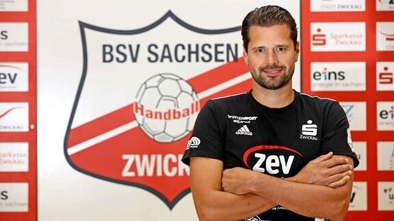 BSV Sachsen Zwickau: Trainer Norman Rentsch