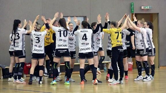 Die Mannschaft des BSV Sachsen Zwickau