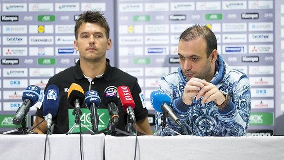 Christian Prokop und Bob Hanning