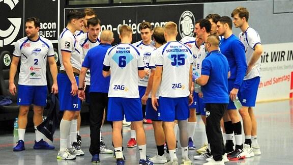 Die Spieler des Dessau-Roßlauer HV