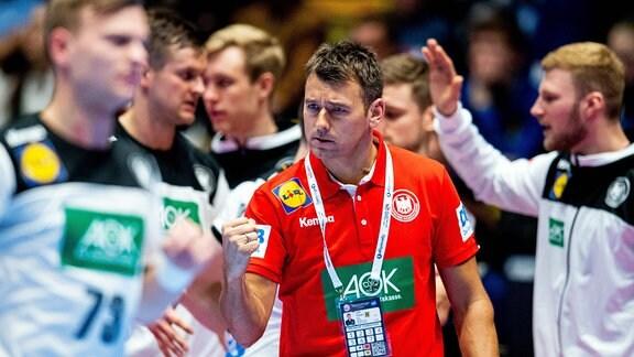 Handball Deutschland gegen Niederlande