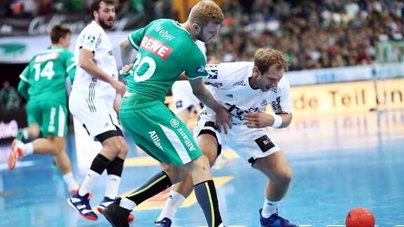 Philipp Weber ( Leipzig) gegen Steffen Weinhold (Kiel)