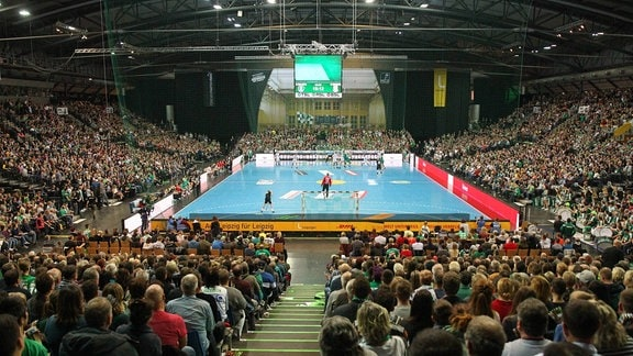 Ausverkaufte Arena Leipzig