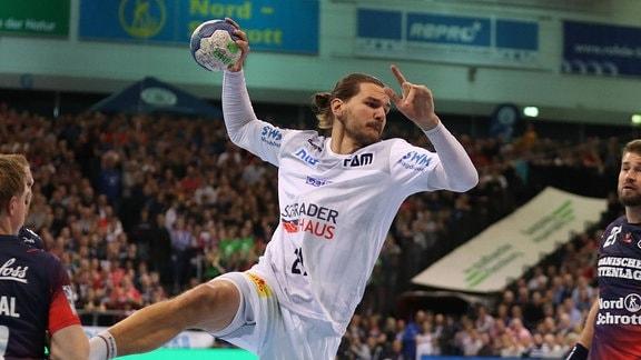 Erik Schmidt vom SC Magdeburg