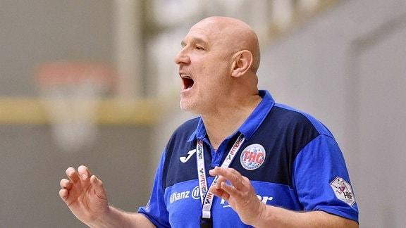 Herbert Müller (Trainer Thüringer HC)