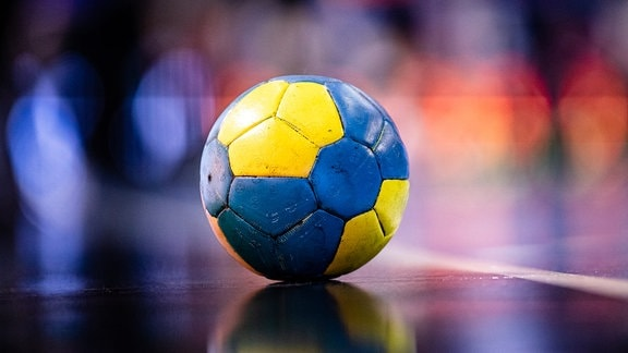 Ein Handball.