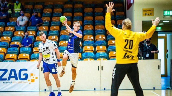 Testspiel Dessau-Roßlauer HV gegen EHV Aue (Anhalt Arena)