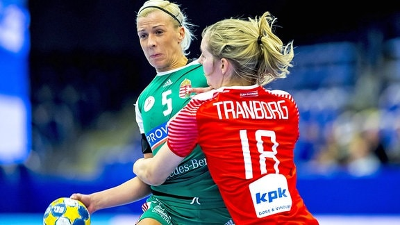 Krisztina Triscsuk gegen Mette Tranborg