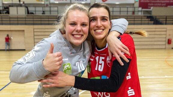 Cecilie Woller und Danique Boonkamp