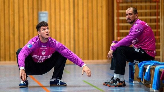 Thomas Eichberger und Blaz Voncina