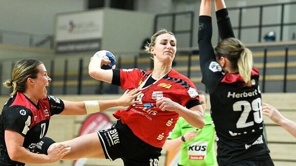 Lisa Friedberger, Lea Gruber und Ines Ivancok
