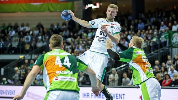 Lenny Rubin, Philipp Weber und Anton Lindskog