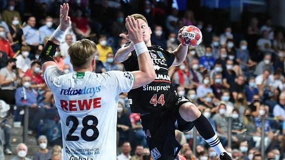 Maciej Gebala 28, SC DHfK Leipzig  Christopher Steinert  44, HC Erlangen.