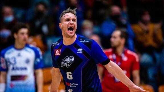 Jakub Hrstka waehrend eines Spiels