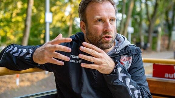 Jan-Henning Himborn (Sportlicher Leiter, SV Union Halle)