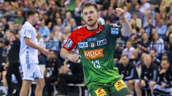 DHB Pokal Finale - SC Magdeburg gegen THW Kiel Albin Lagergren