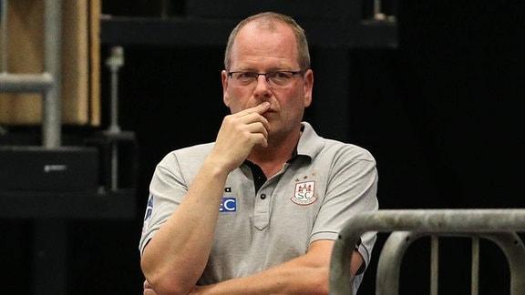 Marc-Henrik Schmedt (Geschäftsführer SC Magdeburg)