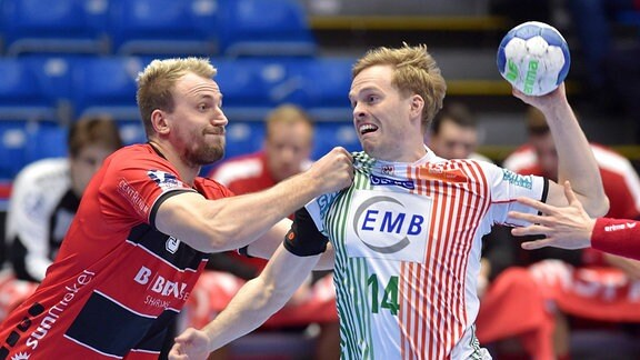 Omar Ingi Magnusson SC Magdeburg am Ball