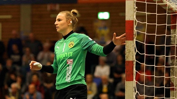 Torhüterin Rinka Duijndam ( Dortmund )