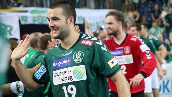 Bastian Roschek beim  Schlussjubel