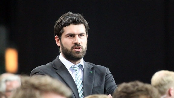 Karsten Günther, Geschäftsführer der SC-DHfK-Handballer