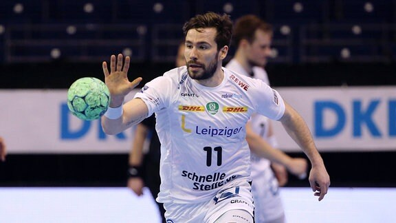 Lukas Binder vom SC DHfK Leipzig