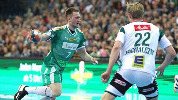 Luca Witzke 7, SC DHfK Leipzig