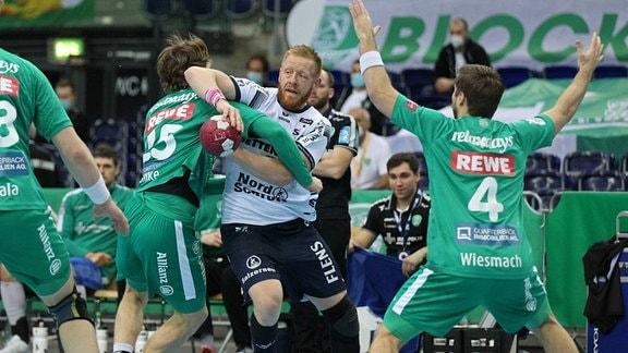 Jim Gottfridsson gegen Gregor Remke
