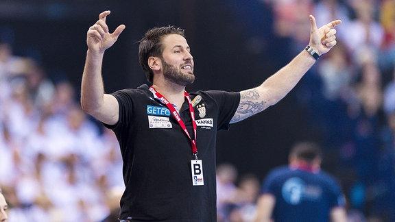 SC Magdeburg Trainer Bennet Wiegert