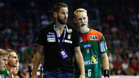 SC Magdeburg: Bennet Wiegert und Matthias Musche