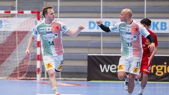 Omar Ingi Magnusson und Tim Hornke